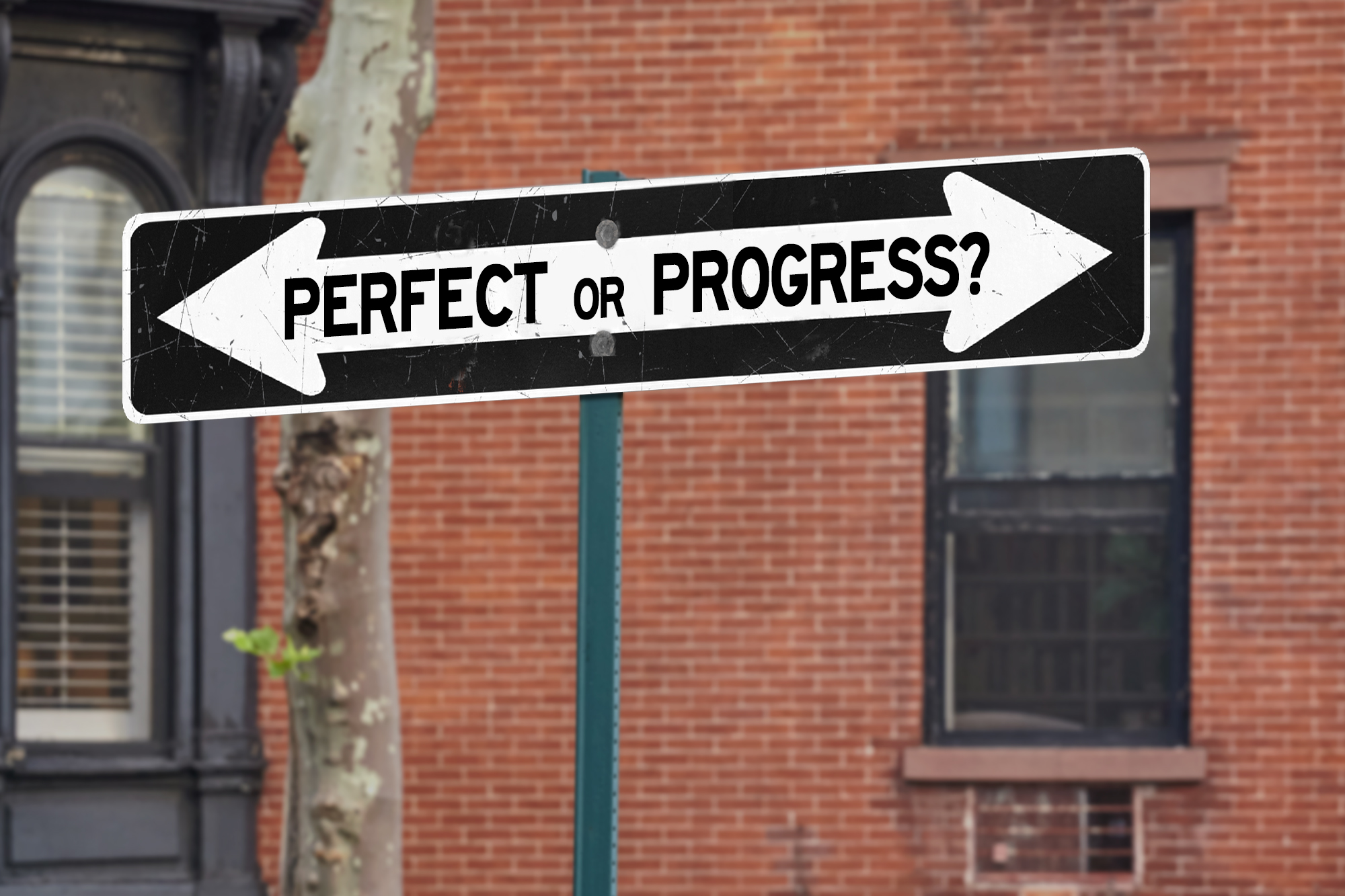 Perfectionism Blocks Success